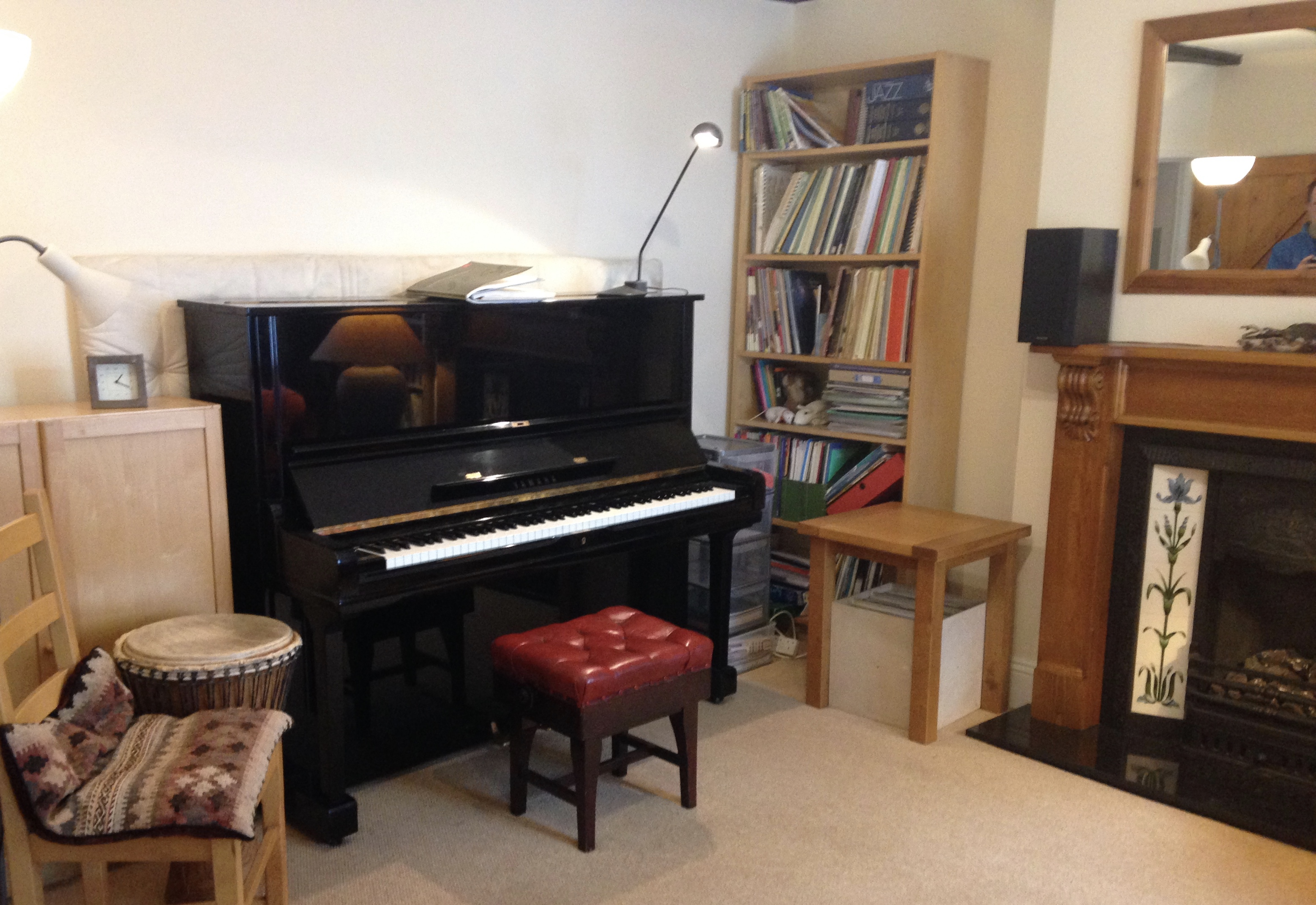 Blackberry Hill Studio Music Room